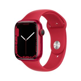 Apple Watch Series 7 GPS + Cellular, 45mm (PRODUCT)RED Aluminium Case with (PRODUCT)RED Sport Band - Regular