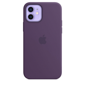 iPhone 12 mini Silicone Case with MagSafe - Amethyst