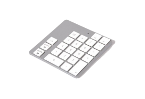 LMP Bluetooth Keypad 2, 23 keys, standalone and connectable with Apple Magic keyboard A1644, OS X