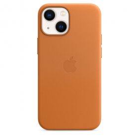 iPhone 13 mini Leather Case with MagSafe - Golden Brown