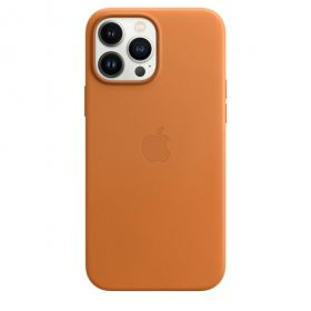 iPhone 13 Pro Max Leather Case with MagSafe - Golden Brown