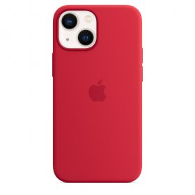 iPhone 13 mini Silicone Case with MagSafe  (PRODUCT)RED