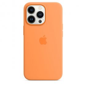 iPhone 13 Pro Silicone Case with MagSafe  Marigold