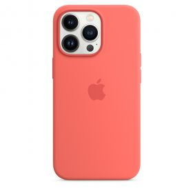 iPhone 13 Pro Silicone Case with MagSafe  Pink Pomelo