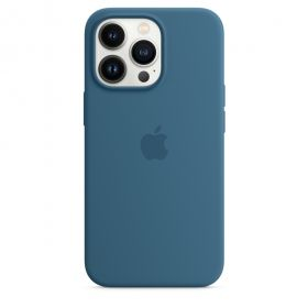 iPhone 13 Pro Silicone Case with MagSafe  Blue Jay