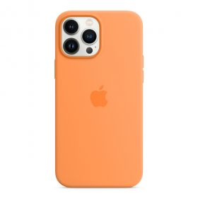 iPhone 13 Pro Max Silicone Case with MagSafe  Marigold