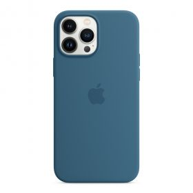 iPhone 13 Pro Max Silicone Case with MagSafe  Blue Jay