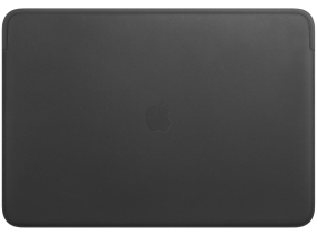 Leather Sleeve for 16-inch MacBook Pro  Black