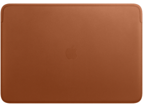 Leather Sleeve for 16-inch MacBook Pro  Saddle Brown