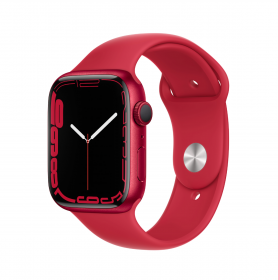 Apple Watch Series 7 GPS + Cellular, 41mm (PRODUCT)RED Aluminium Case with (PRODUCT)RED Sport Band - Regular